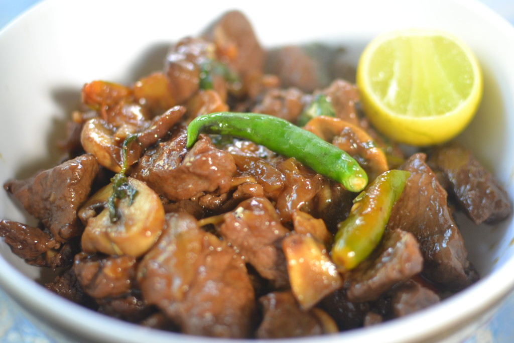 Thai Beef With Mushrooms