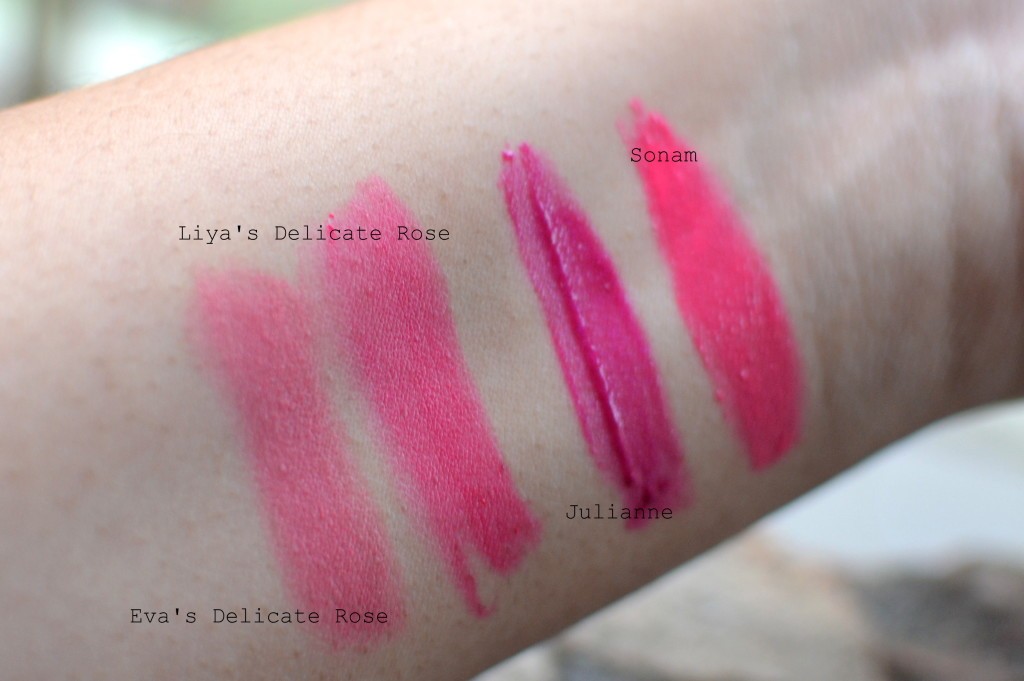 L'Oreal La Vie En Rose Swatches